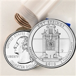 2010 Hot Springs Quarter Roll - Philadelphia Mint - Uncirculated
