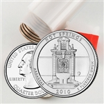 2010 Hot Springs Quarter Roll - Denver Mint - Uncirculated