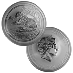 2010 Australian Year of the Tiger 10 oz Silver