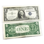 Last $1 Silver Certificate ( 1957 ) - Uncirculated QTY 5
