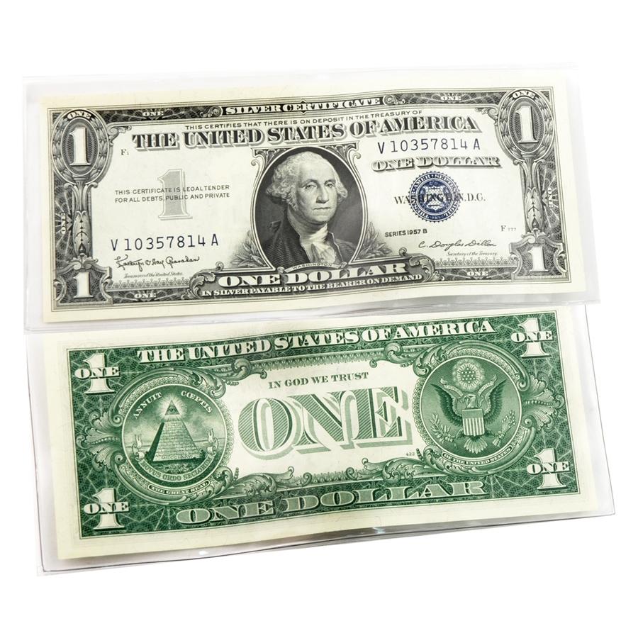 Last $1 Silver Certificate ( 1957 )