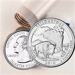 2010 Yellowstone Quarter Roll - Philadelphia Mint - Uncirculated