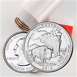 2010 Yellowstone Quarter Roll - Denver Mint - Uncirculated