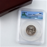 2010 Yellowstone National Park Quarter - Ceremony Release