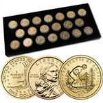 2000 to 2009 Sacagawea Dollar Collection - Uncirculated P & D