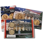 2010 Presidential Dollars Upside Down Variety 2pc Set - Franklin Pierce