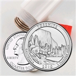 2010 Yosemite Quarter Roll - Denver Mint - Uncirculated