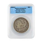 1888 'Hot Lips' Morgan Dollar - O Mint - ANACS Authentic
