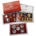 2010 US Silver Proof Set - Modern (14 pc)