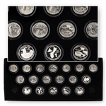 2009 Complete Territorial PDS Quarter Set - 18 Coins