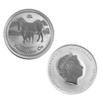 2009 Australian Year of the Ox 1 oz Silver