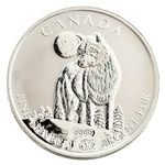 2011 Canadian Wolf - Uncirculated