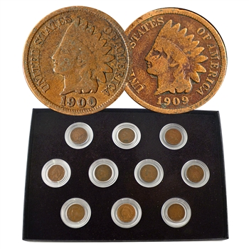 Last Decade of Indian Head Cents (1900 to 1909)