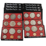 Eisenhower Dollar Proof Sets (1973-1978)
