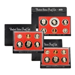 Susan B. Anthony Proof Sets (1979-1981)