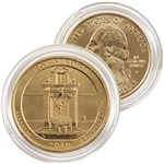 2010 Hot Springs 24 Karat Gold Quarter - Philadelphia