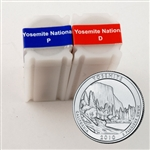 2010 Yosemite Quarter Rolls - Philadelphia & Denver Mints - Uncirculated