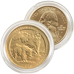 2010 Yellowstone 24 Karat Gold Quarter - Philadelphia