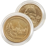 2010 Yosemite 24 Karat Gold Quarter - Denver