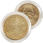 2010 Grand Canyon 24 Karat Gold Quarter - Philadelphia