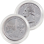2010 Grand Canyon Platinum Quarter - Denver