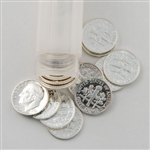 90% Silver Proof Roosevelt Dime Custom Roll - 25 Coins