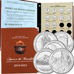 2010 National Parks P & D Quarters with Deluxe Album - AUTOSHIP