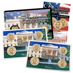2010 Presidential Dollars P & D 2 Lens Set