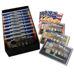 2010 Presidential Mania - Uncirculated, Gold & Platinum (12 sets)
