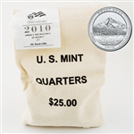 2010 Mt. Hood $25 Government Bag Philadelphia Mint Quarters – Uncirculated