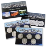 2010 National Parks Quarter Mania Set - P & D