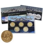2010 National Parks Quarter Mania Set - Gold Denver