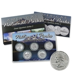 2010 National Parks Quarter Mania Set - Platinum Denver