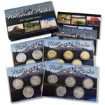 2010 National Parks Quarter Mania Uncirculated Set - Standard (4 Sets)