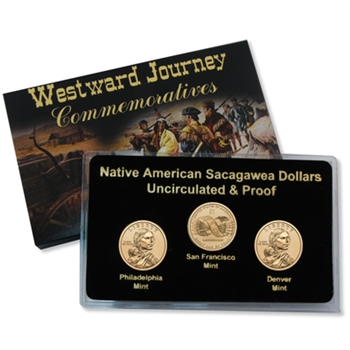 2010 Sacagawea Native American Dollar - P/D/S