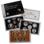 2011 US Silver Proof Set - Modern (14 pc)