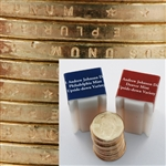 2011 Presidential Dollars - Upside Down 2pc Roll Set - Andrew Johnson