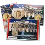 2011 Presidential Dollars Upside Down Variety 2pc Set - Andrew Johnson