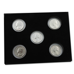 1976 Bicentennial Quarter Collection - 5 pc