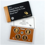 2011 US Mint Presidential Proof Set - Original Government Packaging