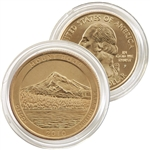 2010 Mt. Hood 24 Karat Gold Quarter - Philadelphia