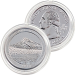 2010 Mt. Hood Platinum Quarter - Denver