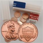 2011 Lincoln Shield Cent Rolls - Philadelphia and Denver - Uncirculated
