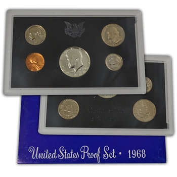 1968 Modern Issue Proof Set