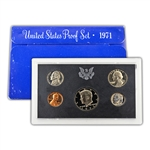 1971 Modern Issue Proof Set
