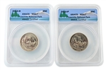 2010 Yosemite National Park Quarter - P/D Set - ANACS MS67