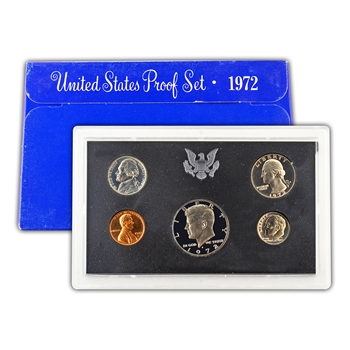 1972 Modern Issue Proof Set