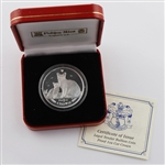 2008 Isle of Man Burmilla Cat - Silver Proof