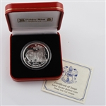 2009 Isle of Man Chinchilla Cat - Silver Proof