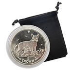 2010 Isle of Man Abyssinian Cat - Clad Proof